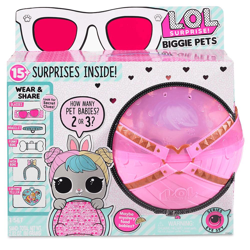 Кукла LOL Biggie Pets (Hop Hop) Большой Питомец Зайка